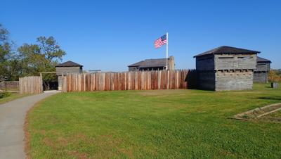 We toured Fort Osage National Historic Landmark at Sibley, Missouri.