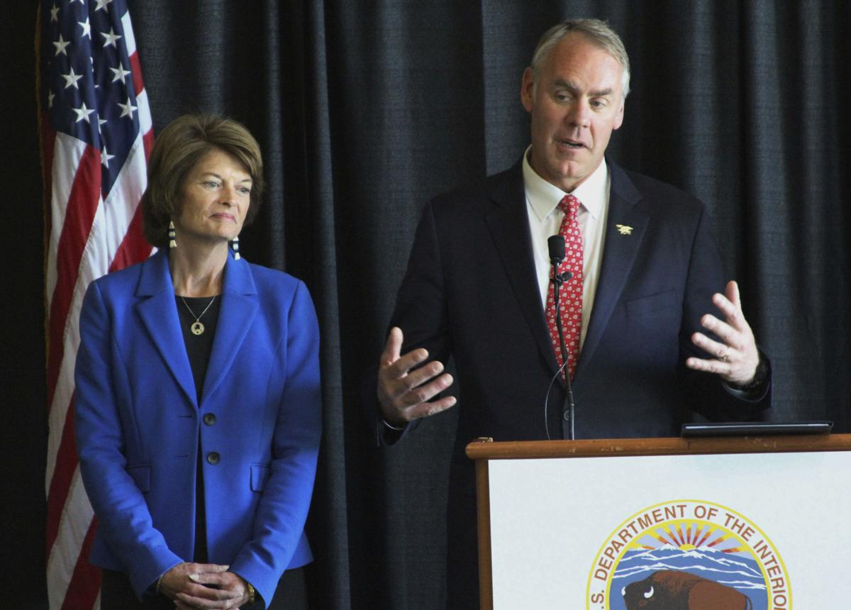 Report: Interior chief warns Alaska senators on health care