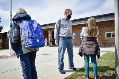 Radley Elementary School principal Joe McMahon