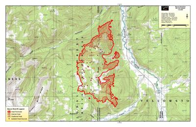 Here Are The Trails And Campsites That Are Closed Due To Fire In