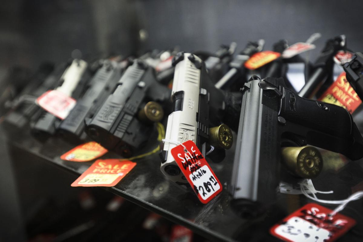 semi-automatic handguns for sale at Montana Outdoor Sports (IR copy)