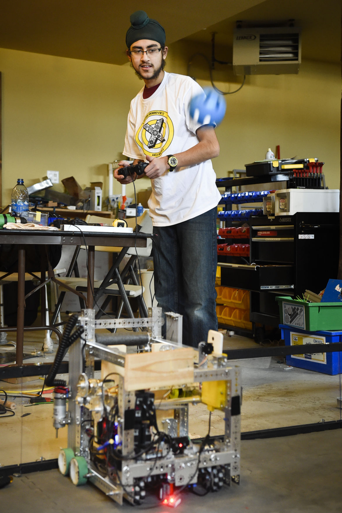 Jaskrit Singh of X-Team Robotics