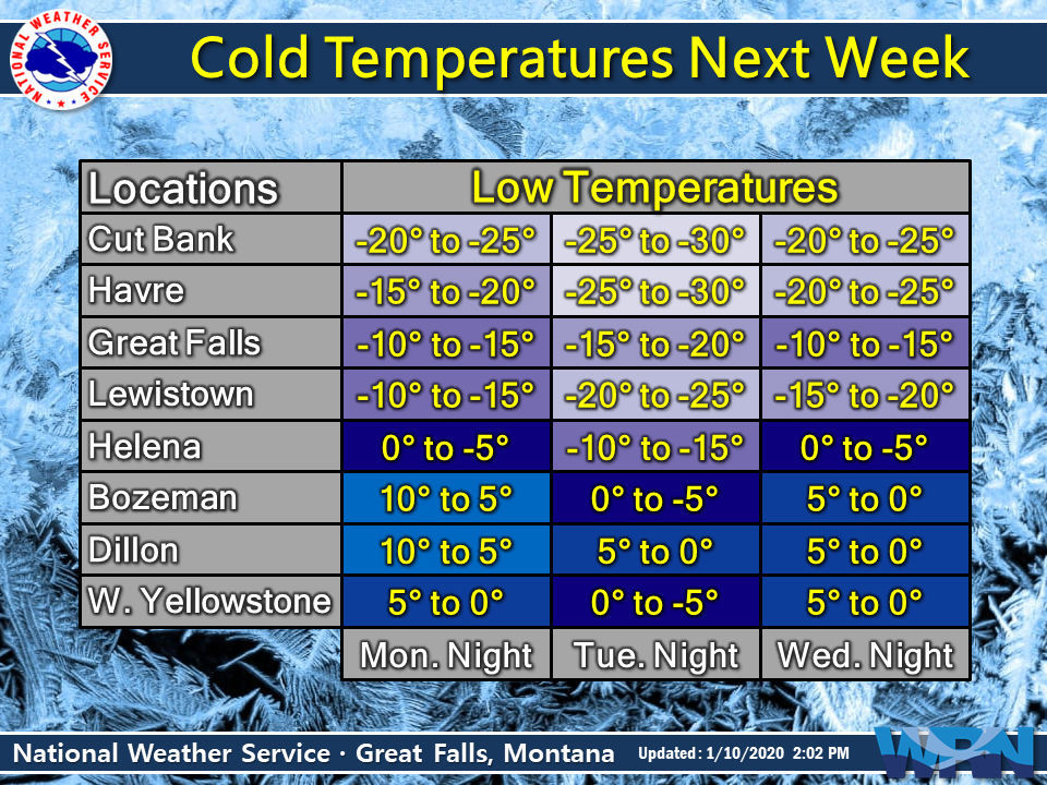 An Arctic cold front will move south across the region on Sunday