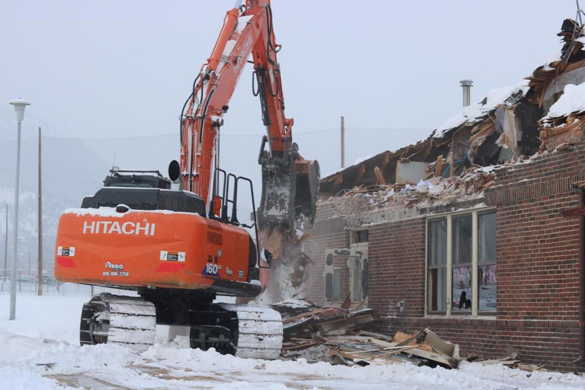 Clubhouse demolition