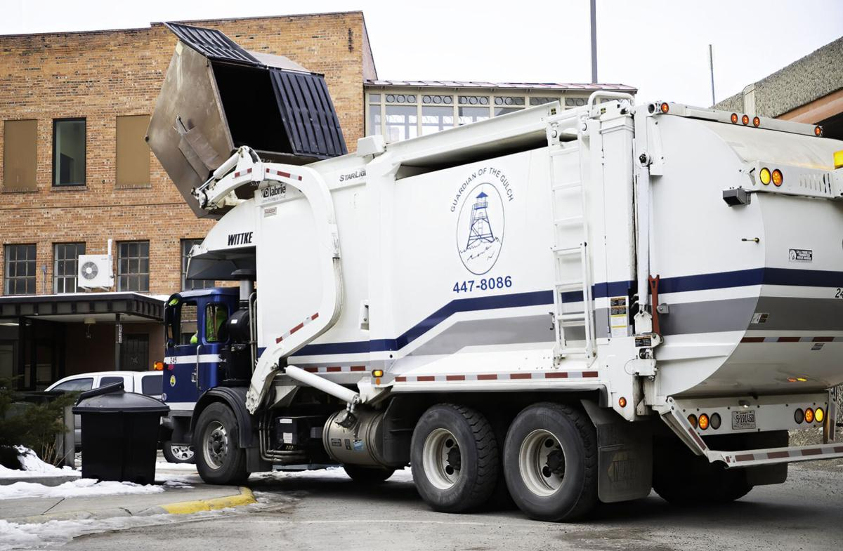 Helena City Garbage Truck