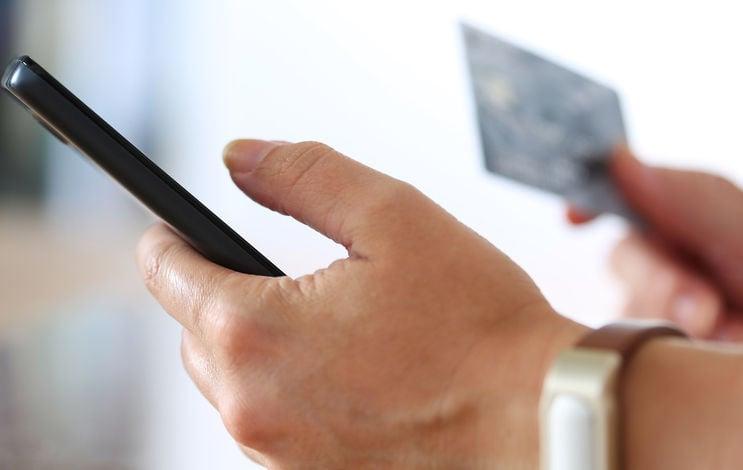phone credit card scam fraud stockimage