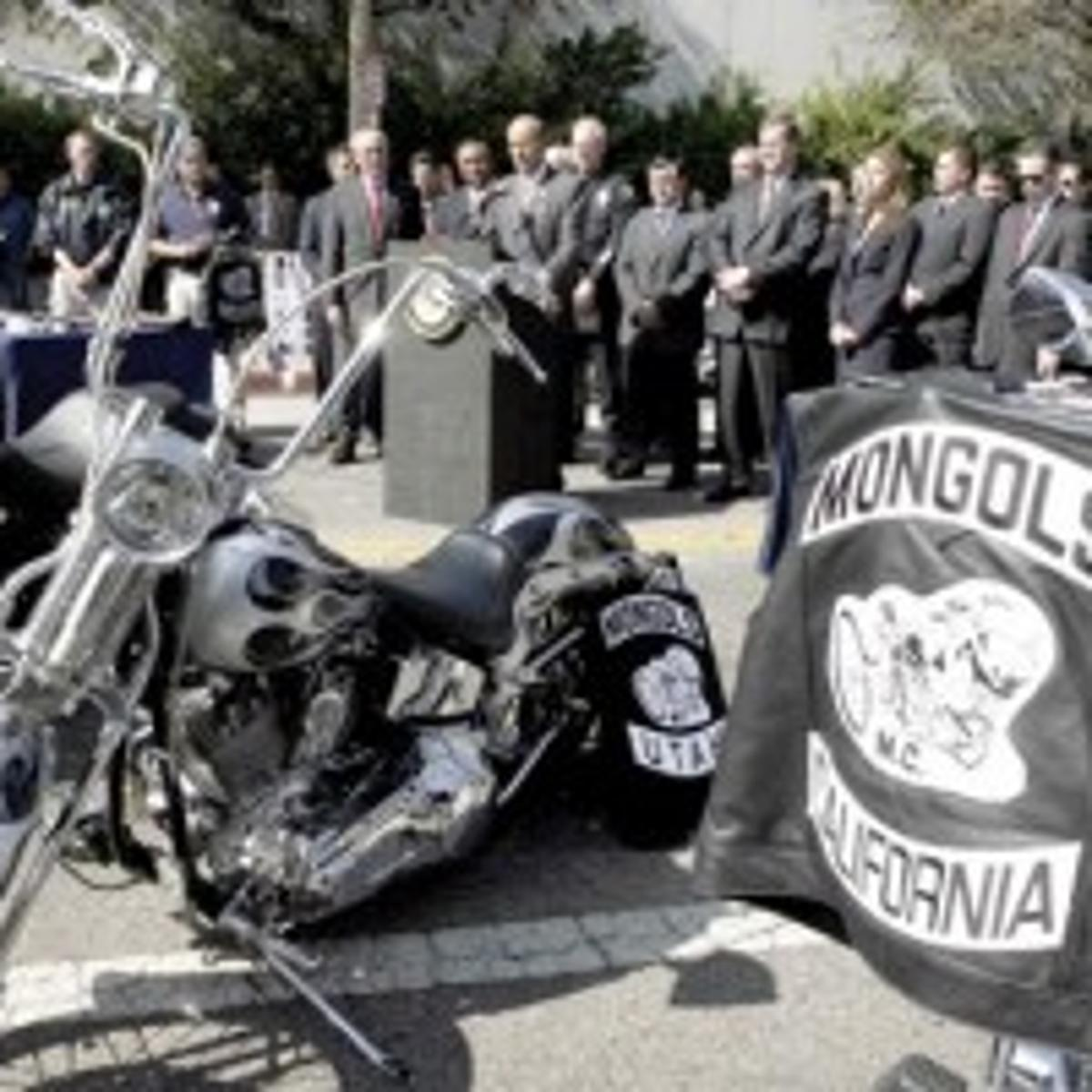 Federal agents sweep through Mongol Motorcycle Club | National