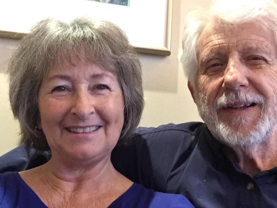 Helen Cloninger Curtis and her husband Gary Curtis