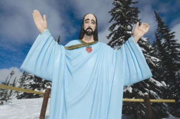 Lawsuit Challenging Whitefish Mountain Jesus Statue Moves