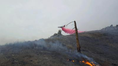 Lawrence Gulch fire contained