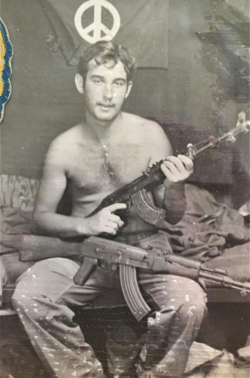 Army Sgt. Dal Smilie, circa 1972.