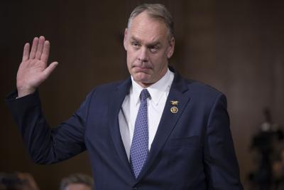 Trump Interior Secretary hearing