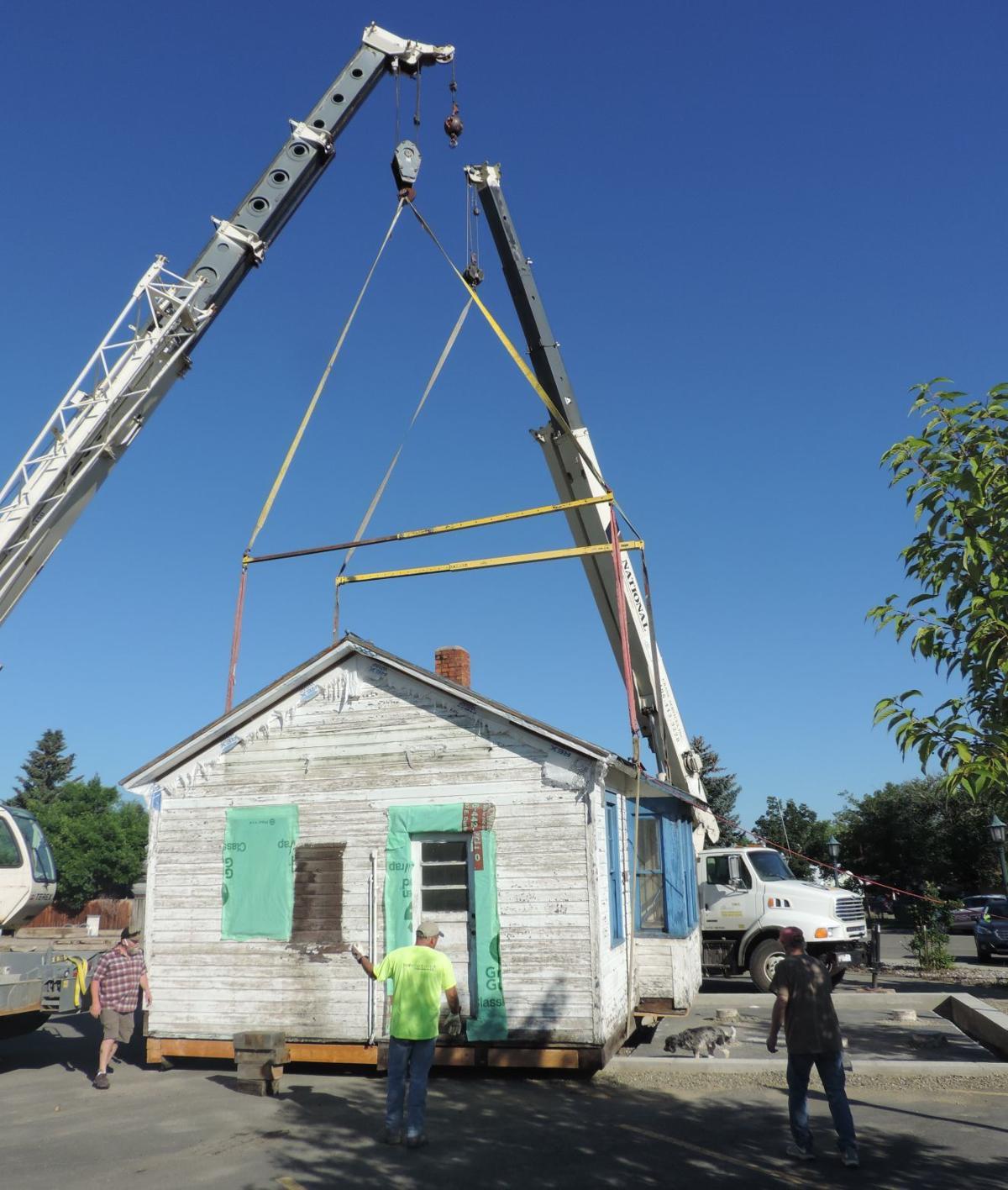 East Helena Depot Move