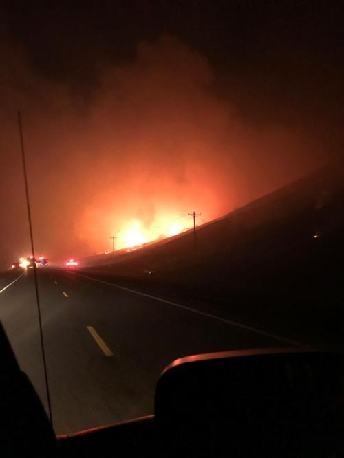 Broadwater fire