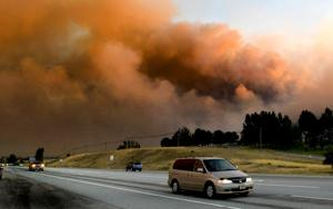 Smoky skies from California fires prompt reminder about air quality