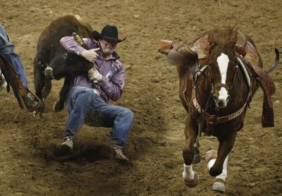 APTOPIX National Finals Rodeo