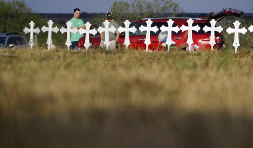 Texas massacre is seized on by both sides in gun debate