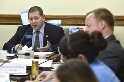 Rep. Ed Buttrey in committee