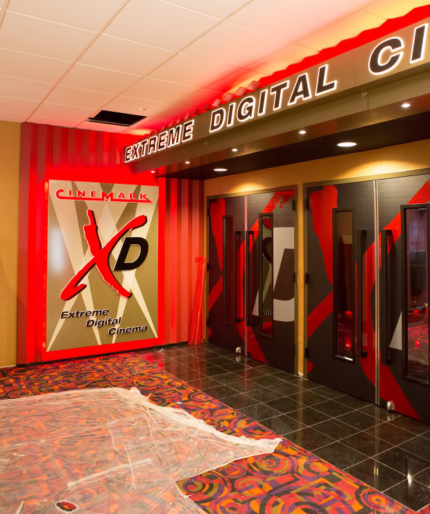 Cinemark Xd Offers Next Generation Movie Experience