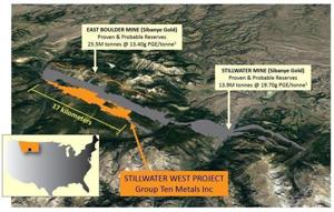 Canadian firm to buy mining claims west of Stillwater Mining property