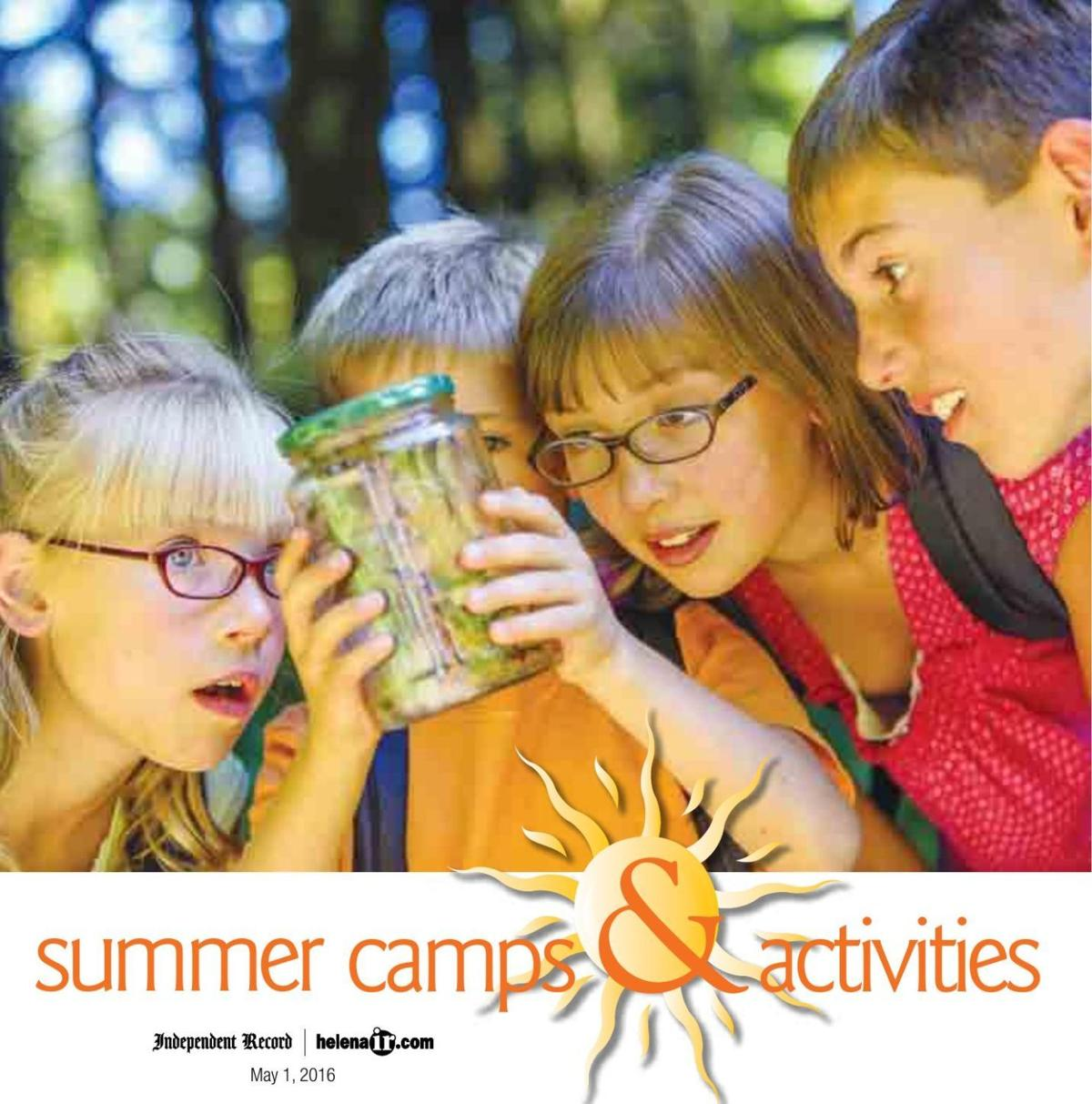 Helena Area Summer Camps and Activities