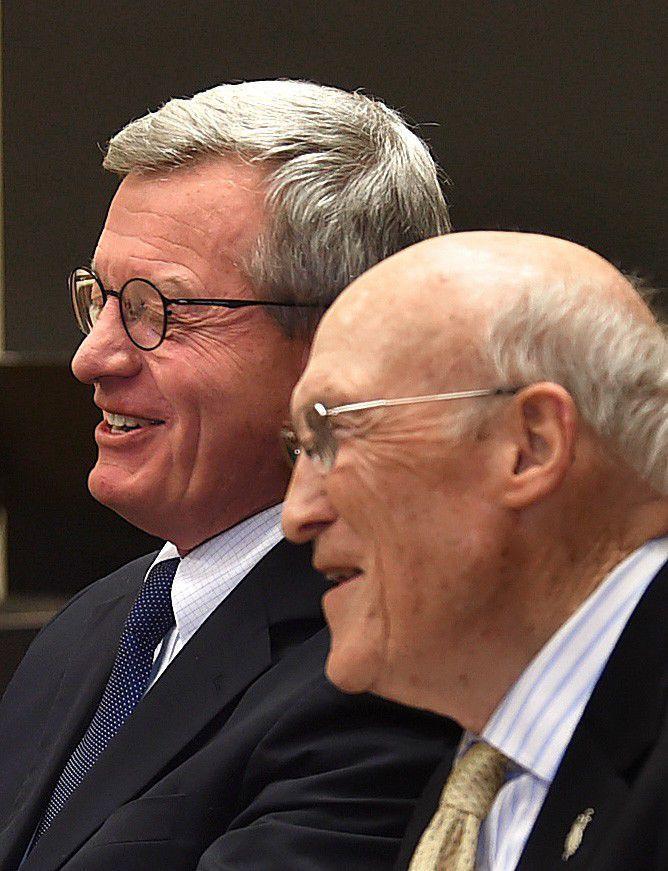 Baucus Simpson laugh