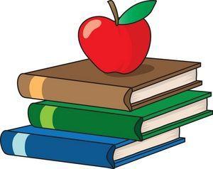 Education school icon books apple teacher school