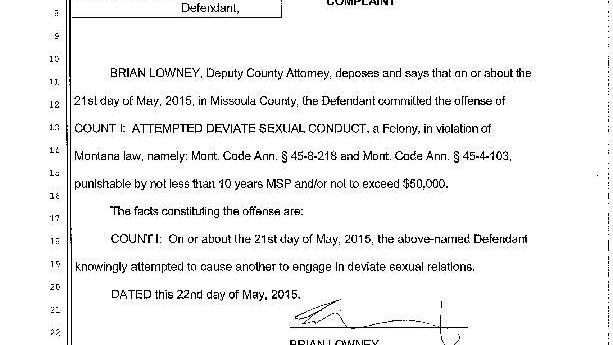 Seeley Lake Man Allegedly Prostitutes Dog On Craigslist State And