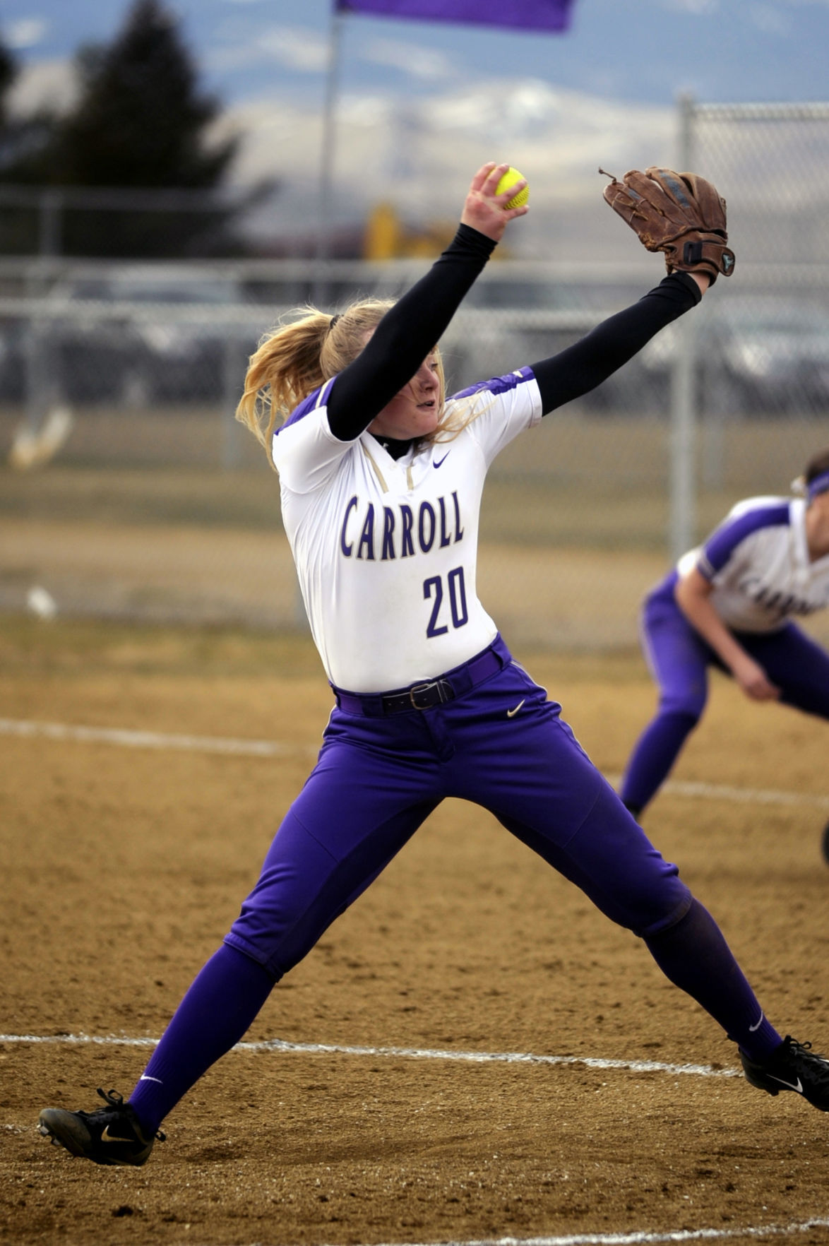 carroll softball