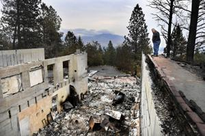 Homeowner says backburn on Lolo Peak backfired, destroying his home