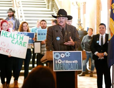 Don't Mess with Medicaid rally