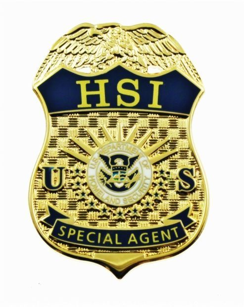 Homeland Security Investigations badge icon