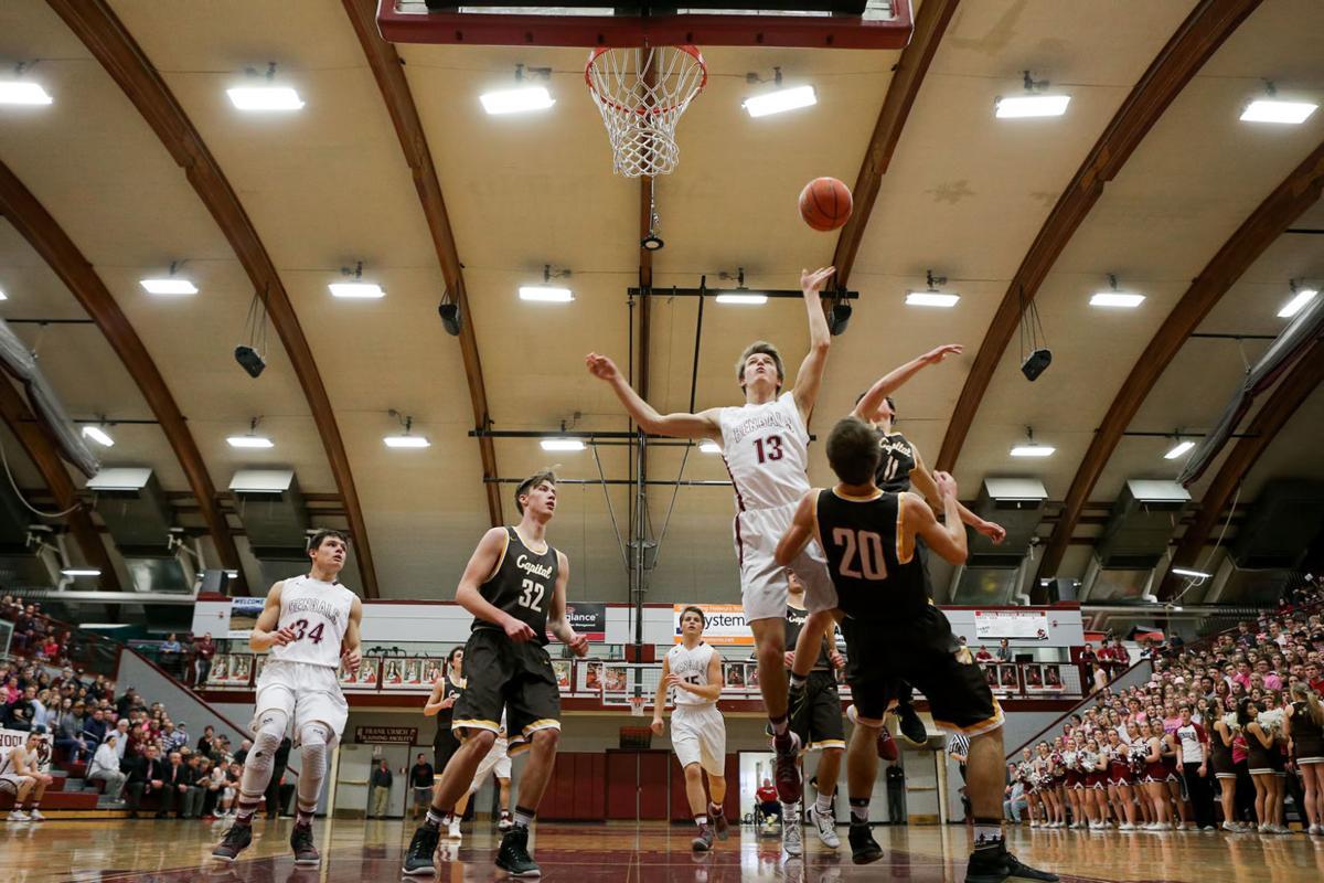 boys basketball; HHS vs CHS