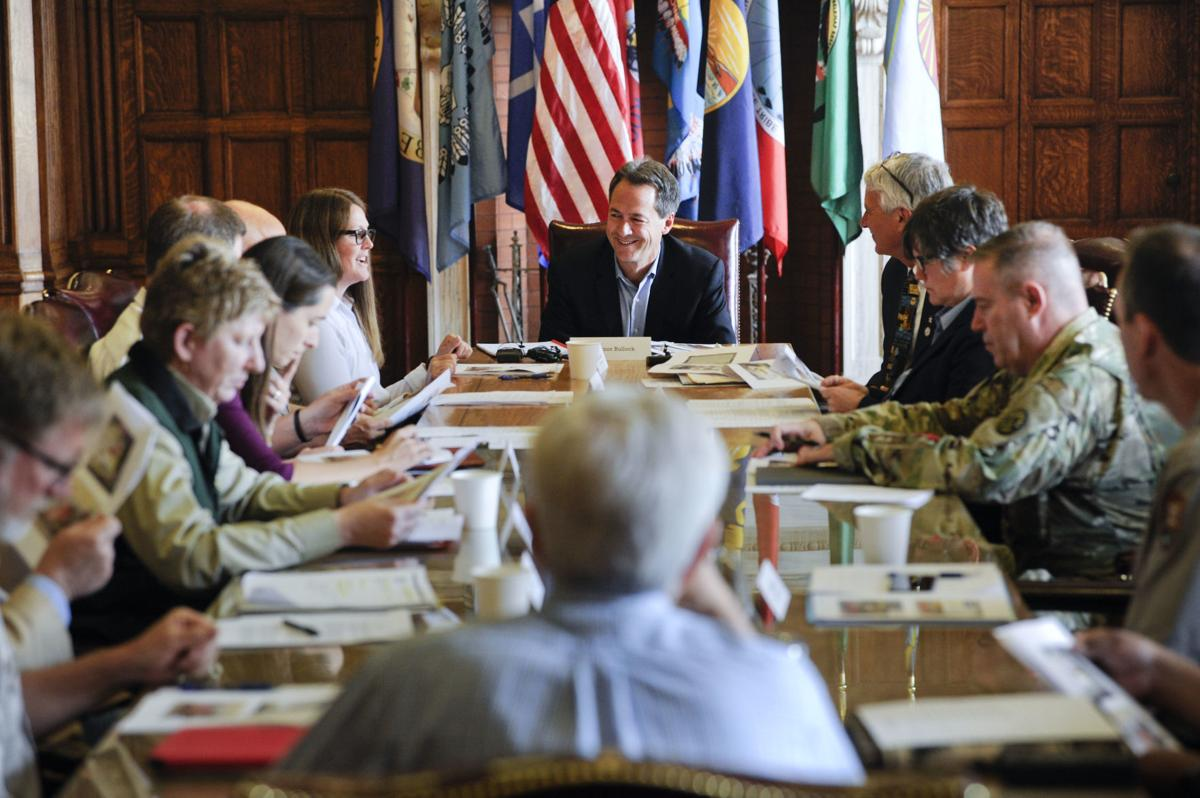 Gov. Steve Bullock meets with local, state and federal officials