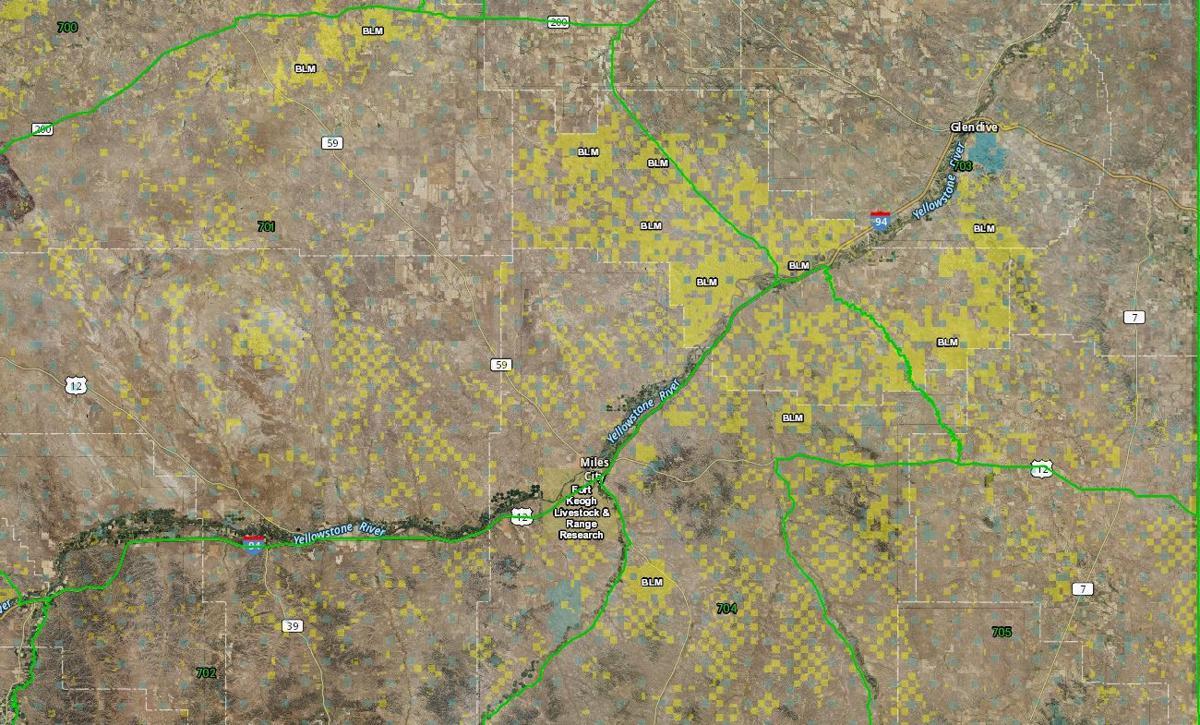 MT Region 7 Public Lands