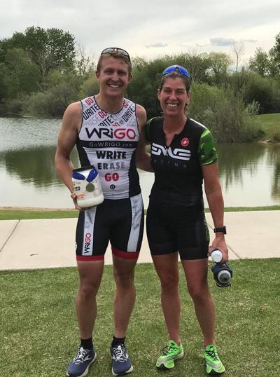 Swinson, Kaiser capture Spring Meadow Triathlon championships