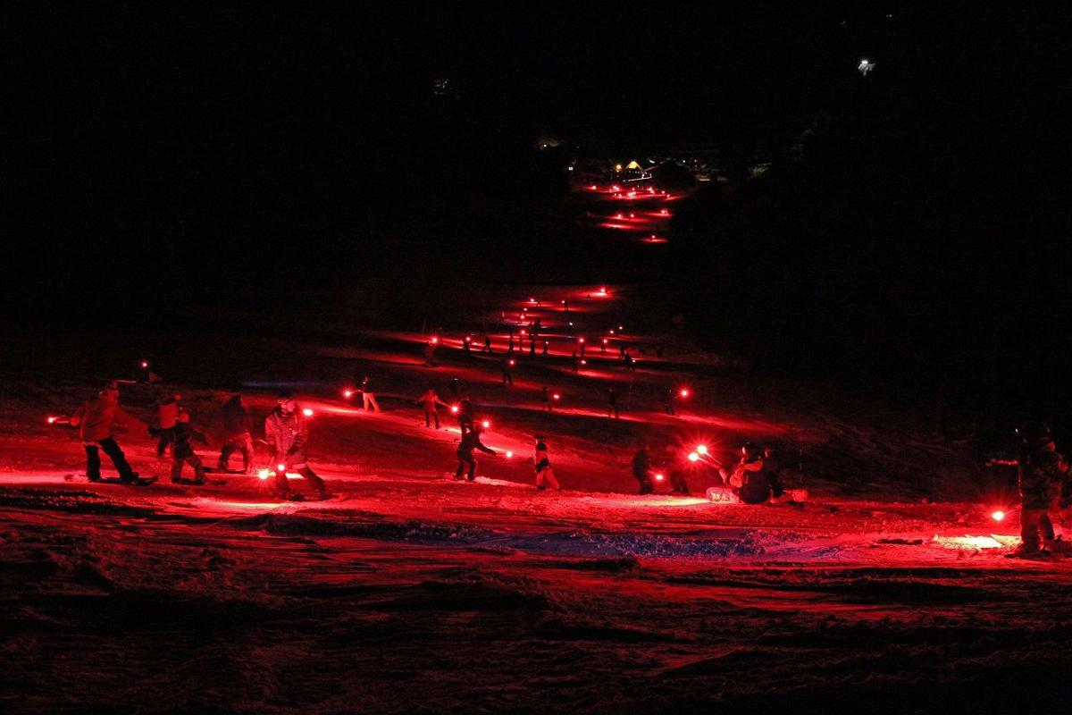 The 28th Torchlight Parade at Great Divide Ski Area starts after 6 p.m. on New Year's Eve.