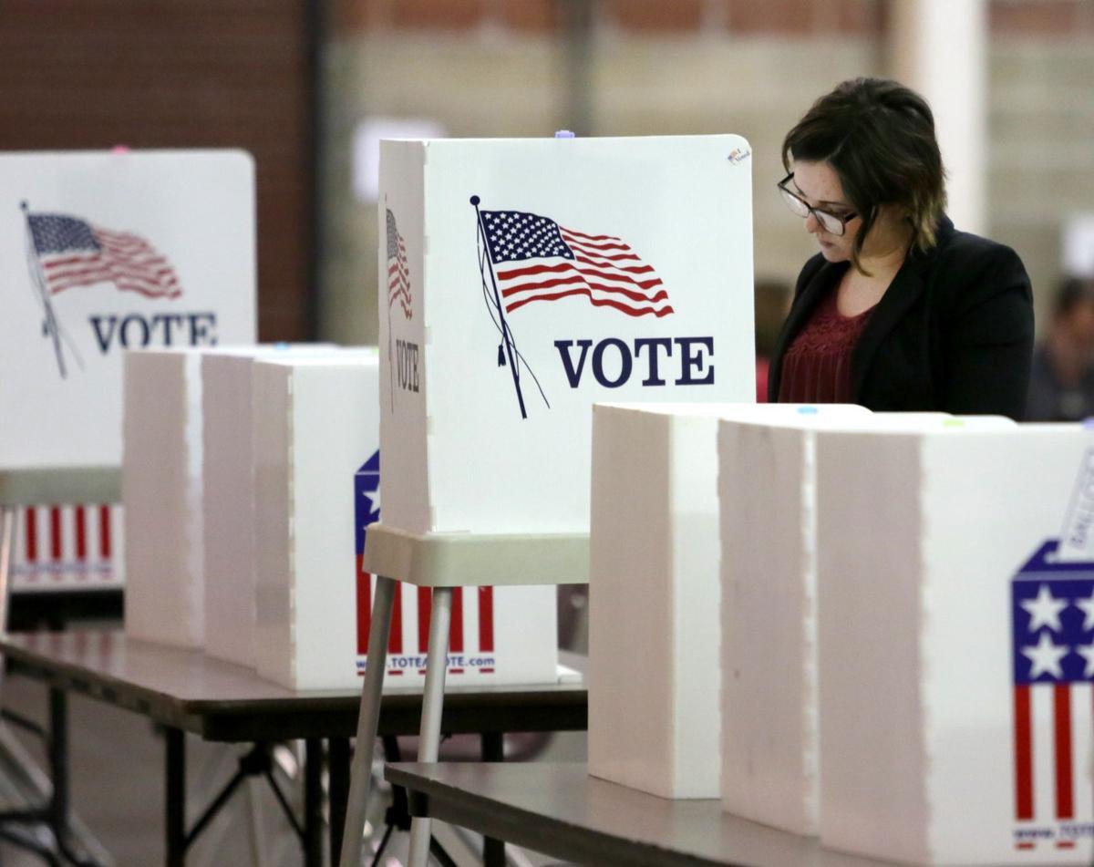 Voting at MetraPark