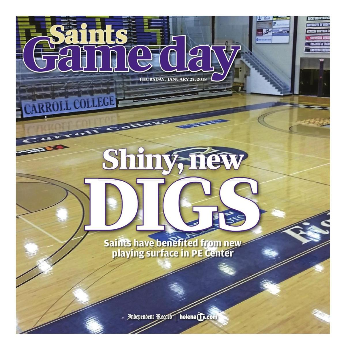 Carroll College Saints Game Day - January 25, 2018