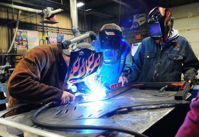 HHS welding class