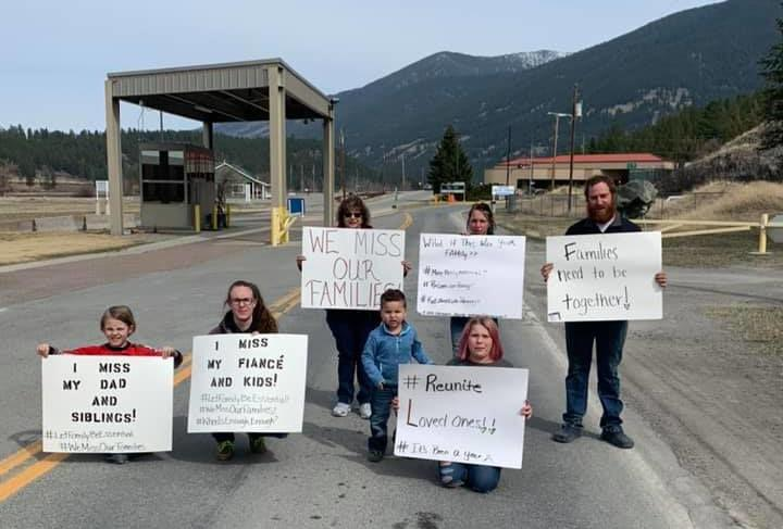 Family is Essential protest
