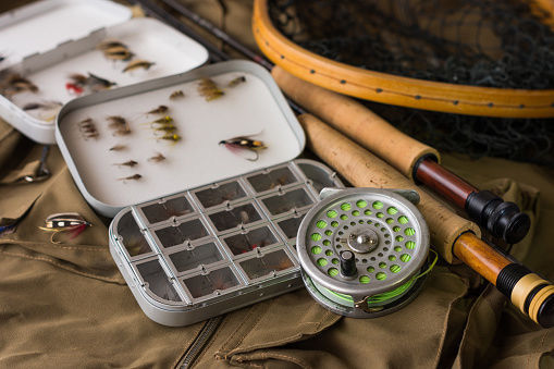 Fishing tackle, stock