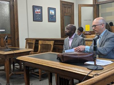 Wilmot Collins in Court