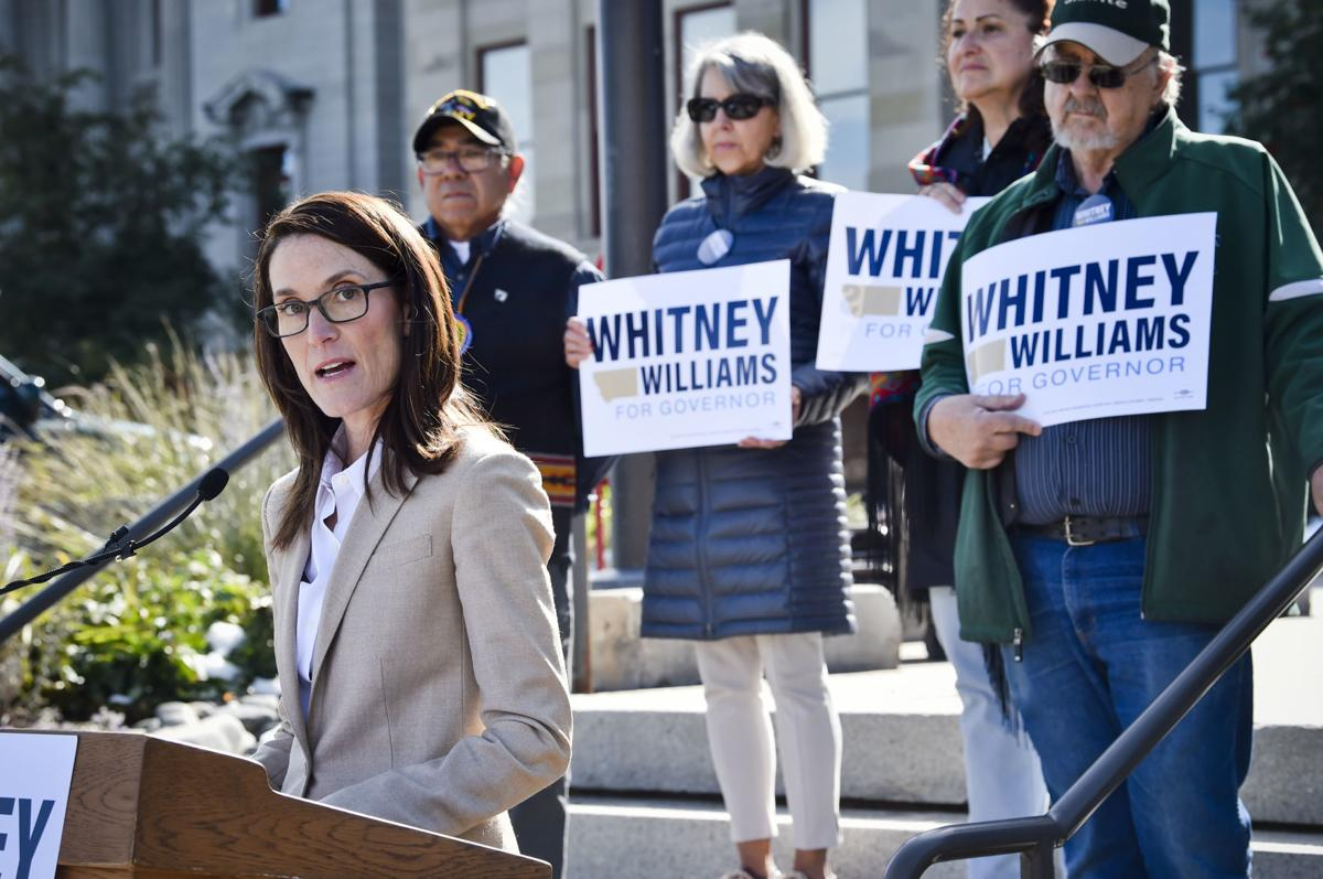 Whitney Williams announces her candidacy (copy)