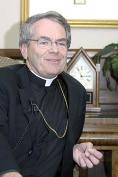 Bishop 'in the clouds' over pope's visit