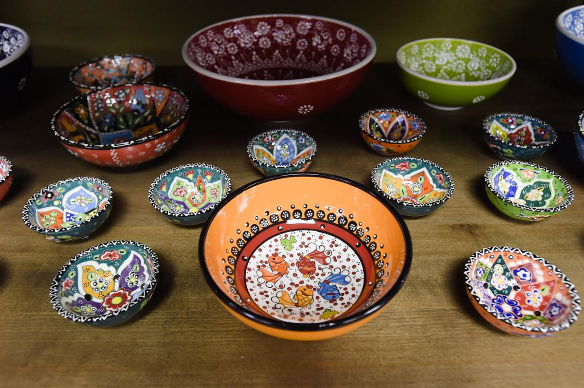 On sale are these Greek/Turkish bowls
