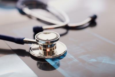 medical stethoscope stockimage