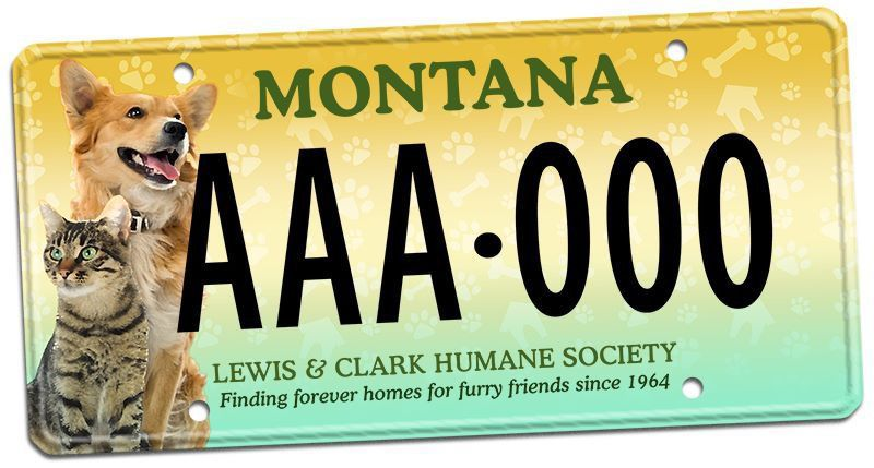 Humane Society Plate
