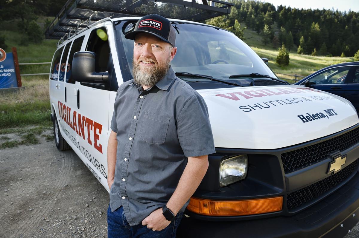 Kurt Valiton, proprietor of Vigilante Shuttles and Tours,