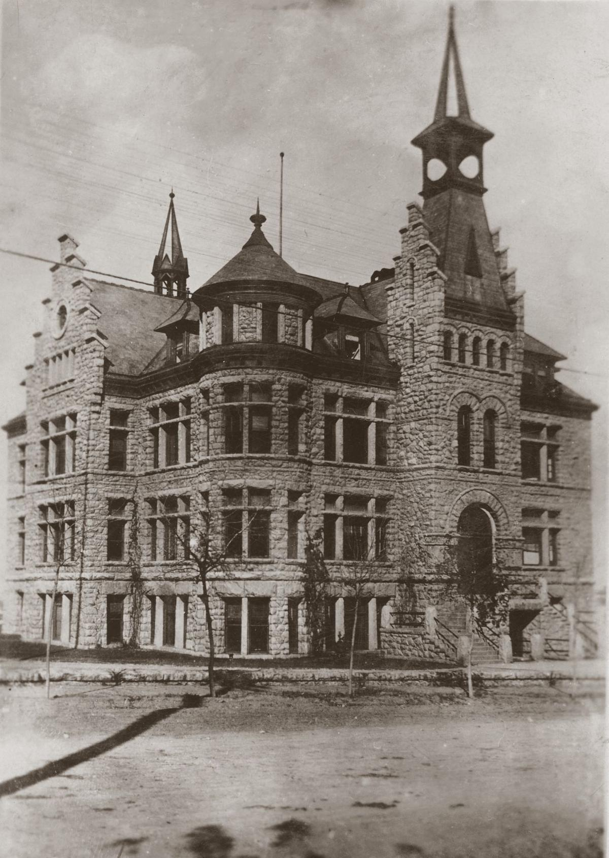 The first Helena High School - One time use granted